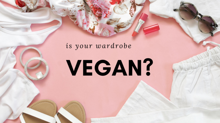 is your wardrobe vegan?